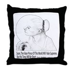 False Prince Throw Pillow
