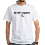 I Survived Sandy (black) T-Shirt