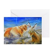 Away in a Manger Christmas Cards (Pk of 10)
