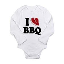 I Love BBQ Body Suit