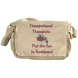 Cute Professions Messenger Bag