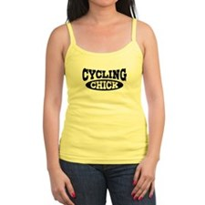 Cycling Chick Jr.Spaghetti Strap