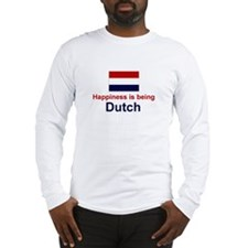 Dutch Happiness Long Sleeve T-Shirt