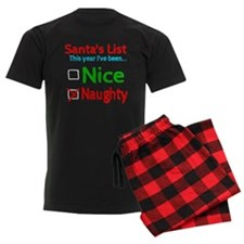 Santa's Nice or Naughty List Pajamas
