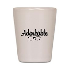 Adorkable Shot Glass