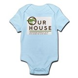 Our House Logo Onesie