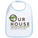 Our House Logo Bib