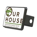 Our House Logo Rectangular Hitch Cover