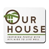Our House Logo Mousepad