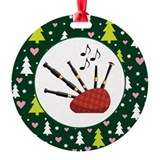 Bagpipes Christmas Ornament Gift Ornament