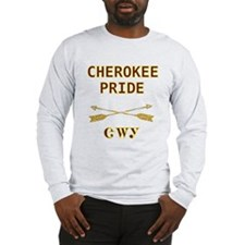 Cherokee Pride With Arrows Long Sleeve T-Shirt