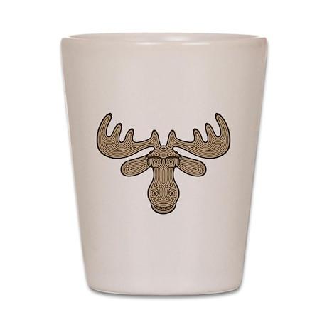 Mocha Moose Shot Glass