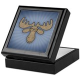 Mocha Moose Keepsake Box
