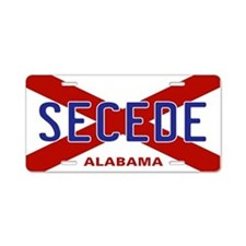 Secede - ALABAMA Aluminum License Plate