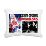 Official CHURCH OF ED WOOD Rectangular Pillow
