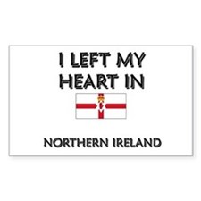 I Left My Heart In Northern Ireland Decal