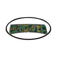 Wrestling Camo Patches