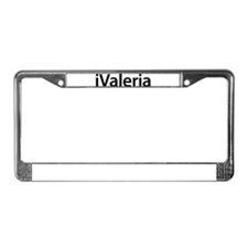 iValeria License Plate Frame