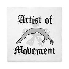 Artist of movement Queen Duvet