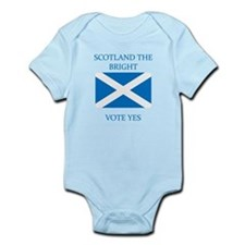 Scotland the Bright Vote Yes Infant Bodysuit