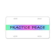 Yoga kids Aluminum License Plate