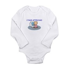 TAKE AFTER DAD Infant Creeper Body Suit