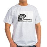 Waves over Long Beach Island T-Shirt