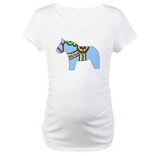 Blue Dala Horse Shirt