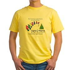 Light-O-Rama Ash Grey T-Shirt T-Shirt