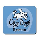 City Dogs Rescue Mousepad