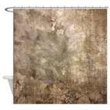 Cement Wall Shower Curtain