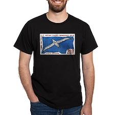 1959 French Antarctic Albatross Postage Stamp T-Shirt