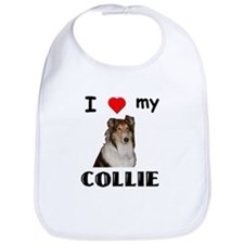 Love my Collie Bib