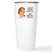 Unique Coffee Travel Mug