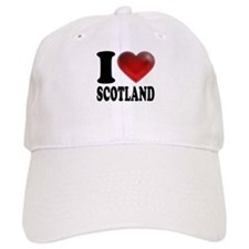I Heart Scotland Baseball Cap