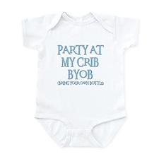 PARTY AT MY CRIB Infant Bodysuit