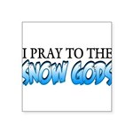 Snow Gods Square Sticker 3