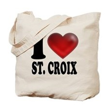 I Heart St. Croix Tote Bag