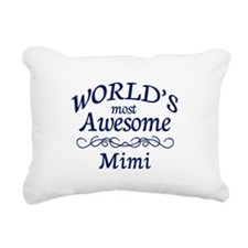 Awesome Mimi Rectangular Canvas Pillow