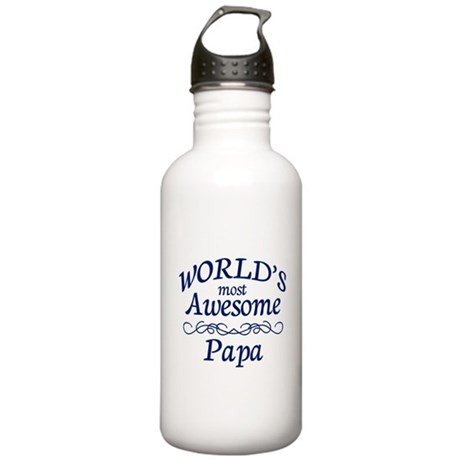 Awesome Papa Stainless Water Bottle 1.0L