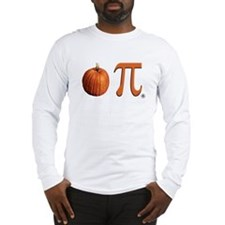 Pumpkin Pi Long Sleeve T-Shirt