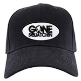 gone squatchin distressed Casquettes de Baseball