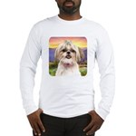 Shih Tzu Meadow Long Sleeve T-Shirt