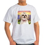 Shih Tzu Meadow Light T-Shirt