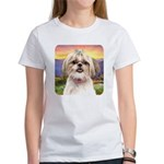 Shih Tzu Meadow Women's T-Shirt