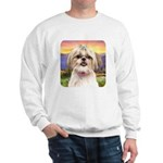 Shih Tzu Meadow Sweatshirt