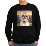 Shih Tzu Meadow Sweatshirt (dark)
