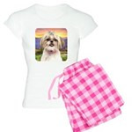 Shih Tzu Meadow Women's Light Pajamas