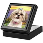 Shih Tzu Meadow Keepsake Box
