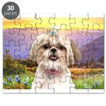 Shih Tzu Meadow Puzzle